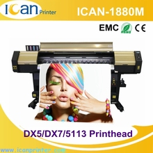 China factory 6 feet industrial bopp digital thick plastic sheet sticker printing machine