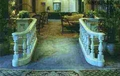 Natural granite baluster