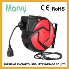 15m small retractable electric cable reel