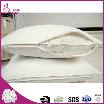 Top quality china wholesale cotton silk pillowcase with zipper clousre