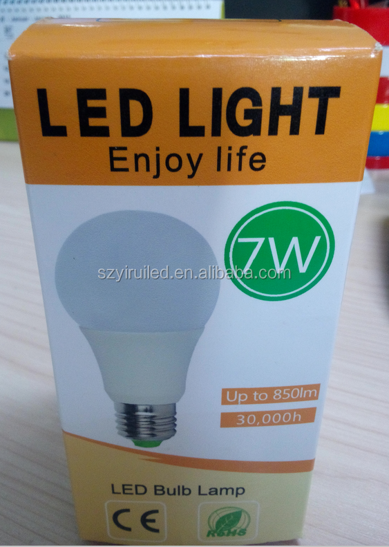 LED energy star and UL approved bulbs