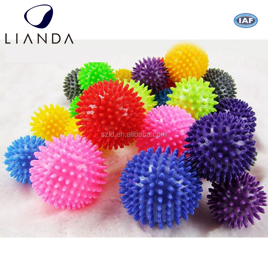 Adjustable Customized Logo exercise balls with custom logo bouncy ball with handle