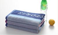 China Wholesale Cotton Yarn Dyed Sport/ Gym/ Yoga Jacquard Hand Towel/Neck Towel