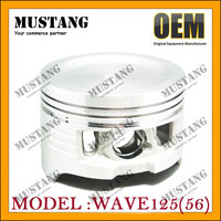 Motorycycle Piston Wave 125 Cylinder Piston Kit Wave 125 Motorcycle Parts