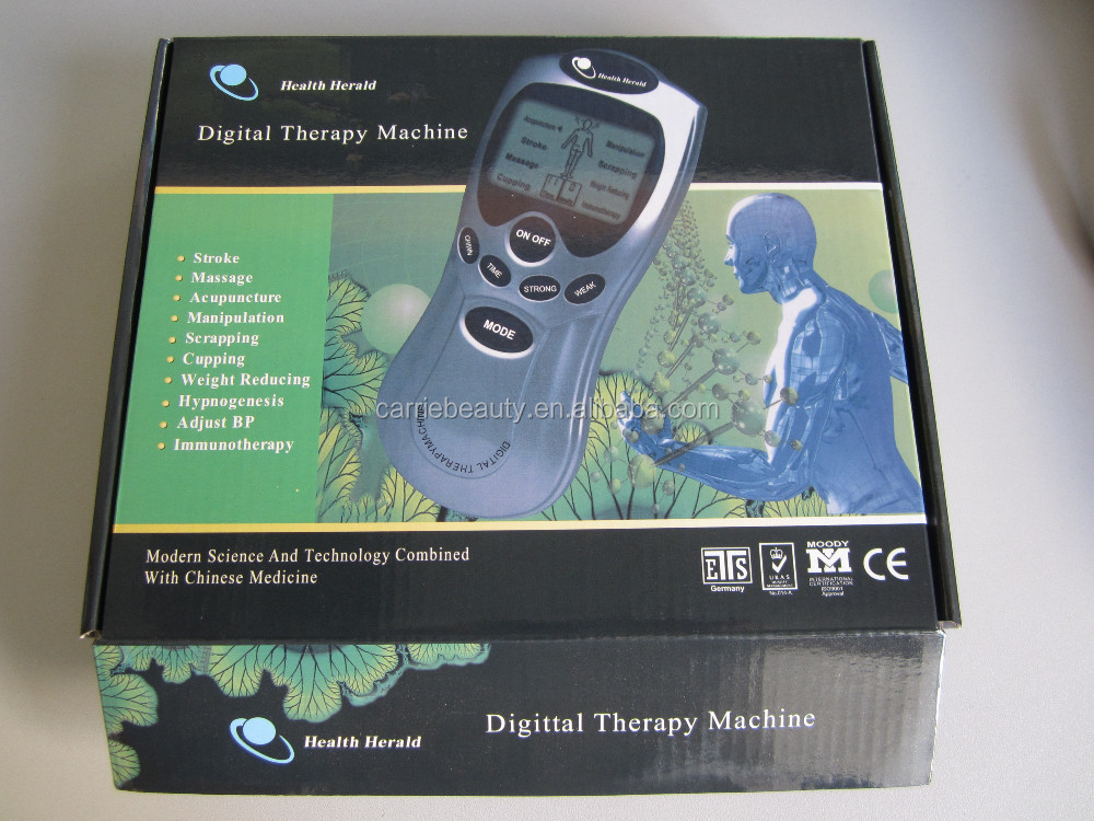 Electronic Pulse Physiotherapy LCD Digital Therapy Meridian Massager
