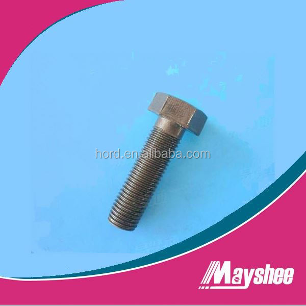 Full thread Hex head bolt din933 fastener suppliers exporters