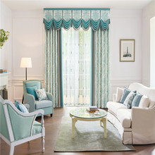 Bottom price pretty and colorful Custom design blackout curtain frill