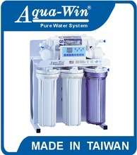 "[ Model HY-5037 ] 5 stages RO System Water Purifier with ""E"" type stand, 50GPD Water Filter System"