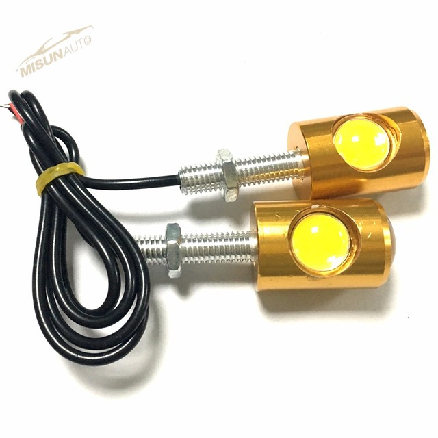 Eagle Eye 10mm Motor Car LED License plate lamp