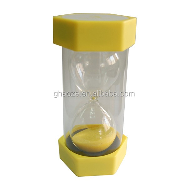 Promotion 3 Minutes Smilely Kids Decorative Sandglass Timer Factory