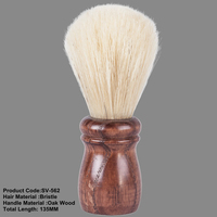 Bristle hair oak wood handle high grade SV-562 beard shaving brush beard makeup cosmetic bristle brush