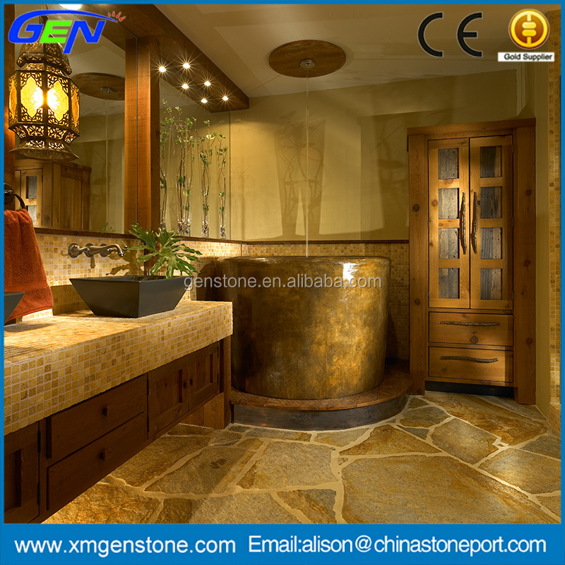 Natural stone prefab polished marble style local bathroom countertop
