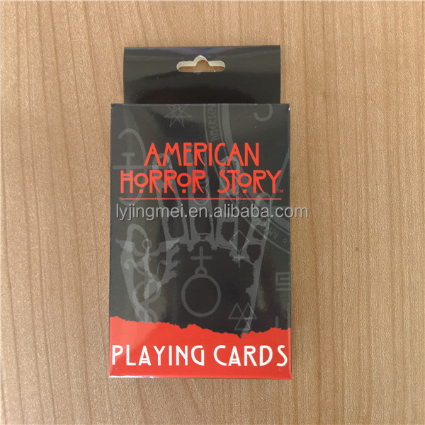 57*87 mm size and 300gsm high grade blue core material playing cards in bulk
