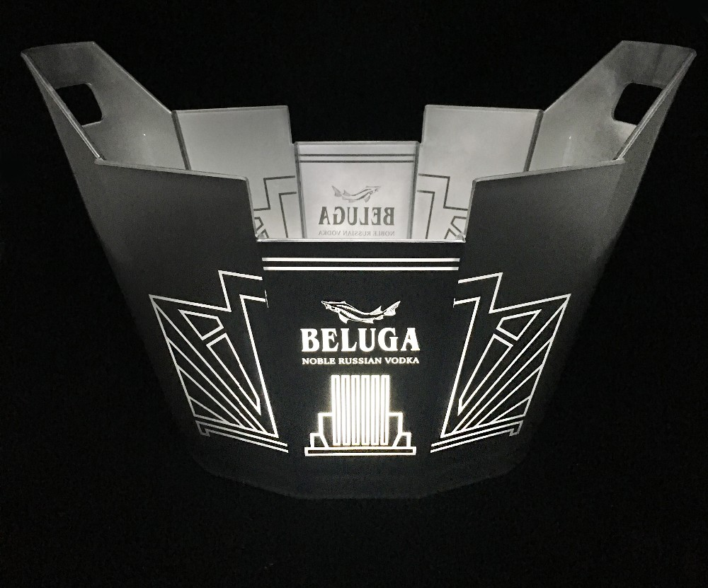 Brand new grey goose ice bucket with ce certificate buy for Where can i buy belaire rose champagne