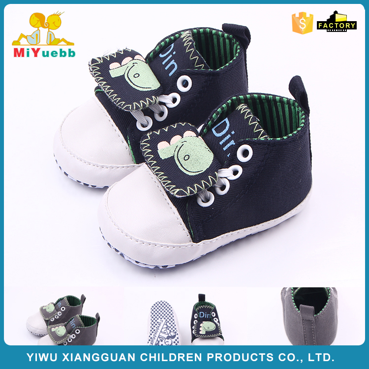 FACTORY DIRECTLY special design canvas baby shoes on sale