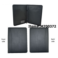 Real leather file folders