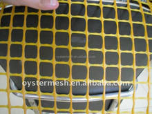 Plastic garden fence/orange plastic square grid/tree guard mesh(China)