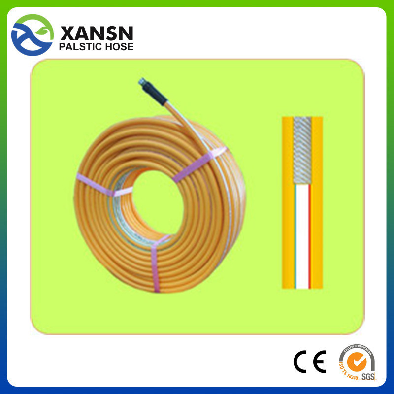high pressure and soft 200m water hose colorful silicone tube/hose/pipe in taizhou