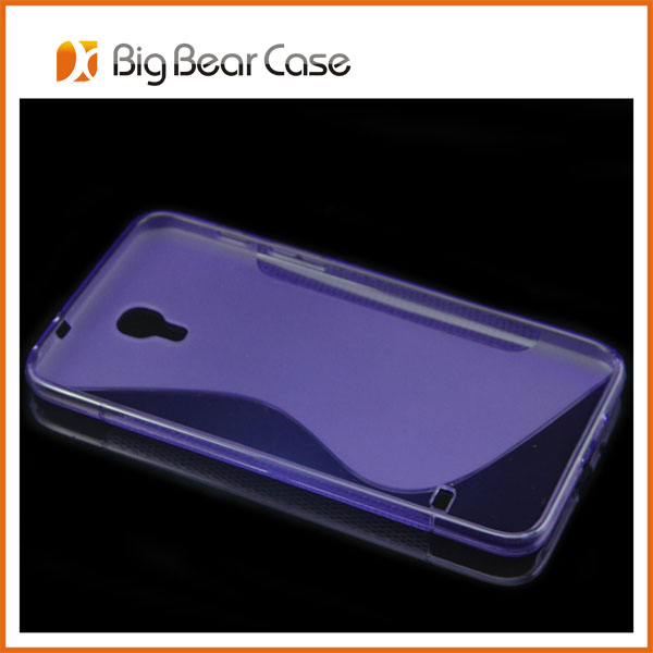 S line tpu T2558 cell phone cover for samsung galaxy Mega 7.0