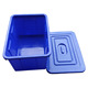 90L Water Crate Box with Lid optional plastic storage box bins for Water Tank Box