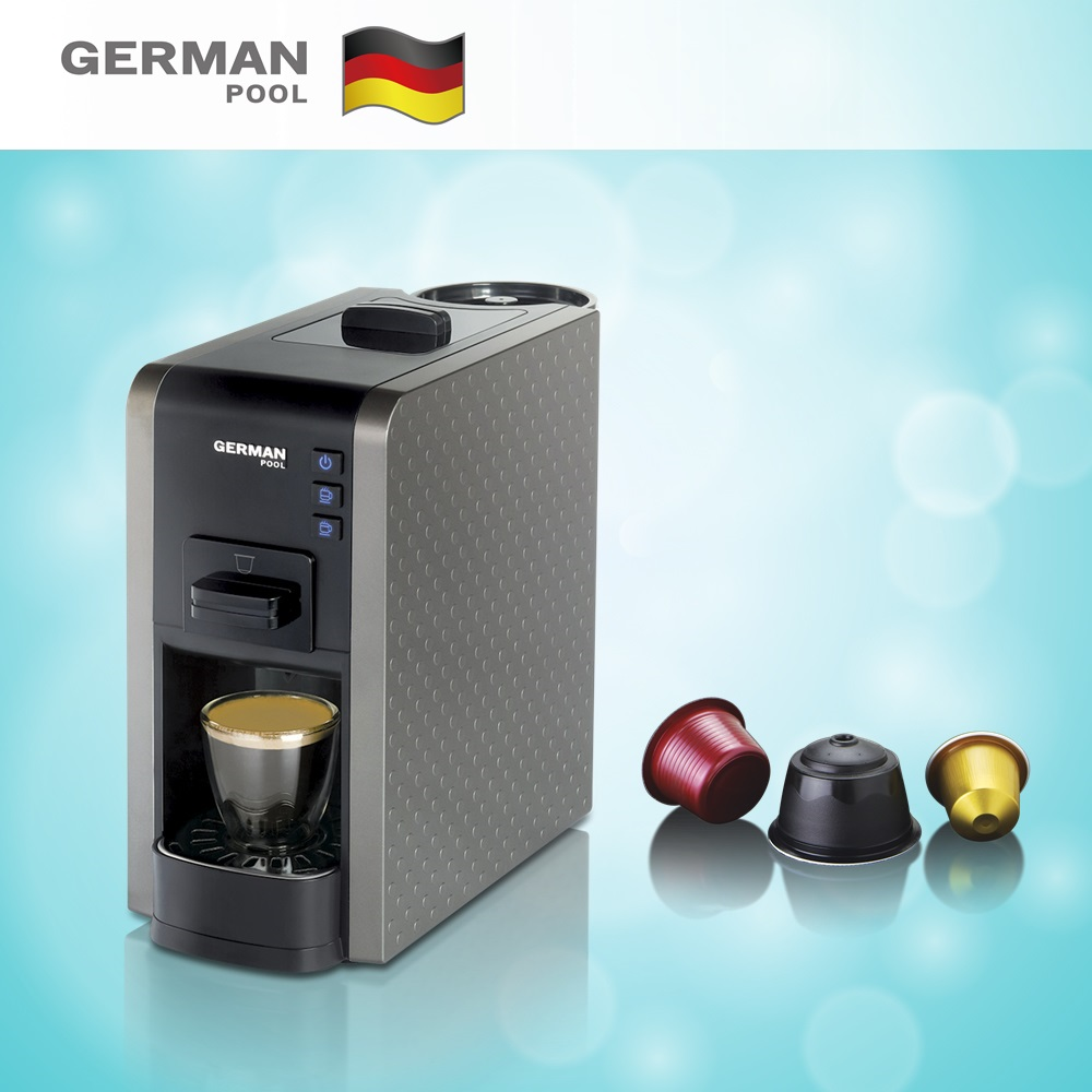 GermanPool Factory design Grand Design 2KW Lavazza Espresso Point Warranty Coffee machine for Domestic use