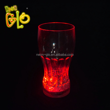 Cheap LED Light Up Cups Flashing Drinking Glass For Promotional