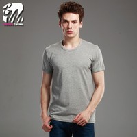 high quality 95%Cotton 5% Spandex O-Neck mens t-shirt for summer