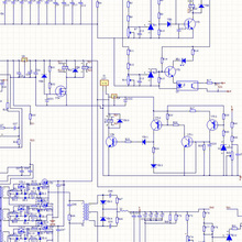 CAD Software Editing Electronics Schematic Diagram PCB Design Layout