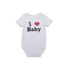 High quality white plain newborn baby clothes romper