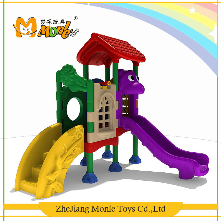 Top fashion sports equipment rotational moulding plastic outdoor playground for kids