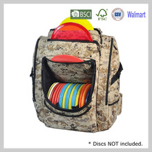 2017 New fashion camouflage custom golf travel backpack bag with custom logo