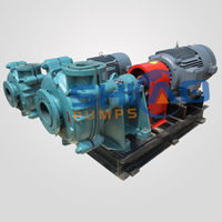 Cr 26 metal high pressure water mud sand pump with diesel engine or electric motor