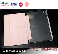 Full grain leather case for iPad mini 4 tablet cover