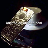 Hot selling led shinning handphone casing for iphone 4g 5g