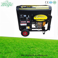 HJ-D5000 ISO certificated 5kva silent diesel generator price
