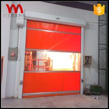 High quality high speed automatic pvc rolling shutters door