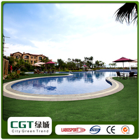 Outdoor green garden synthetic landscape grass used artificial turf prices