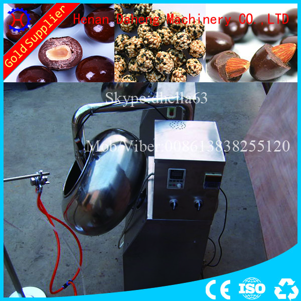 automatic tablet coating machine chocolate coating pan machine