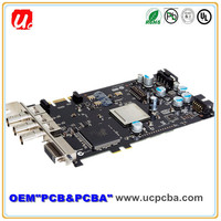 quick turn FR4 rigid multilayer pcb and pcba board assembly in shenzhen