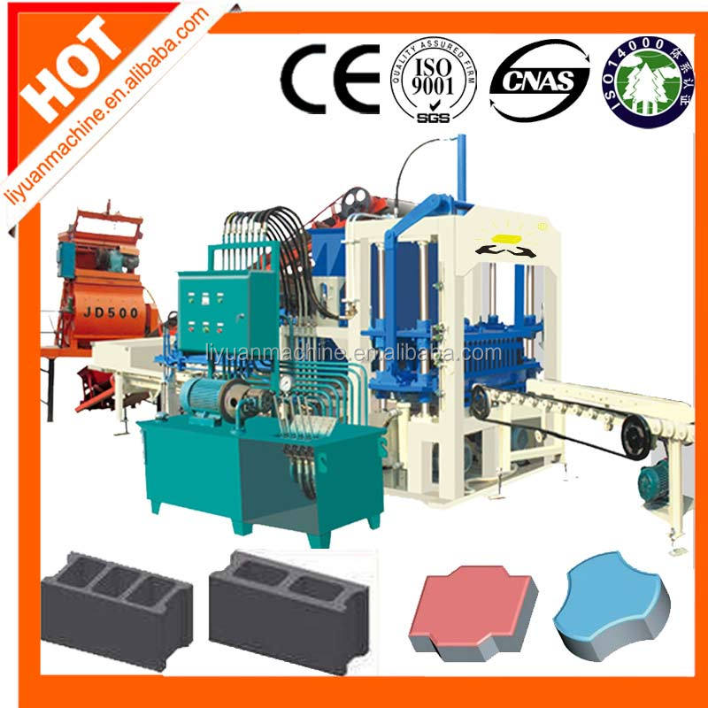 QT4-20 block making machine products in south africa concrete block machine algerie
