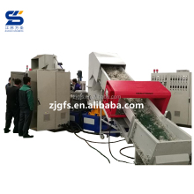 pp pe bag film waste plastic recycling granulating machine/ green woven bag production line plastic granules making machine