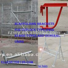 Four feet scaffold steel brackets with level pole