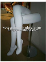 sexy display mannequin legs for stocking