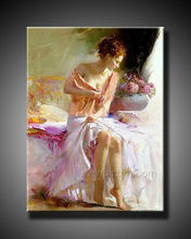 Naked woman wall art for decor