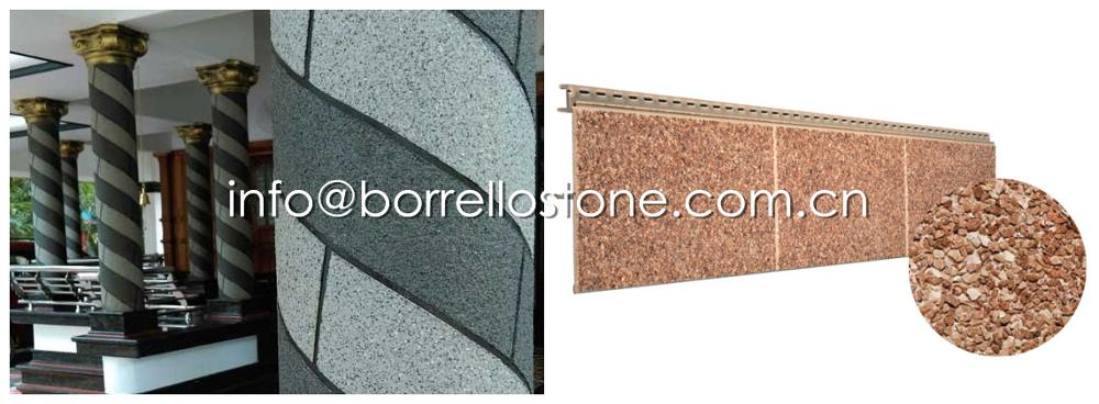 trowel-applied stone coating