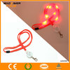 Factory price LED neck lanyard with id card holder