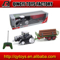 1:28 plastic toy tractor trailers