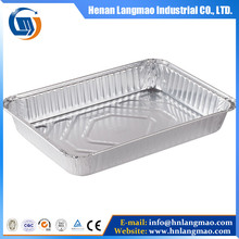 aluminum foil with white coating for container or can lid