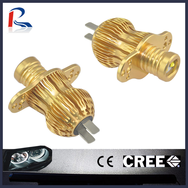 10W 12V CANBUS Free Cree E90L-A LED car angel eye projector headlights for BMW e90 e91
