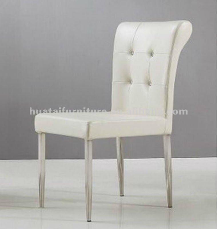 Metal Frame Dining Chairs modern high back metal frame dining chair upholster restaurant